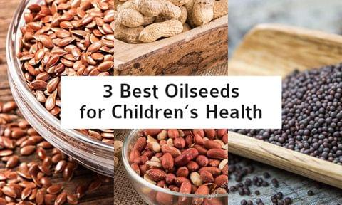 3 All - Season Oilseeds for year-round Children's Health