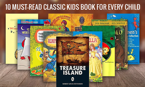 10 Kids Books Every 6 to 8-Year-Old would love to read