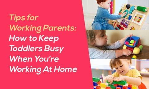 How to Keep your Kids busy when you are working at home