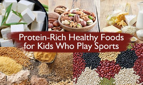 High protein vegetarian diet for sporty kids