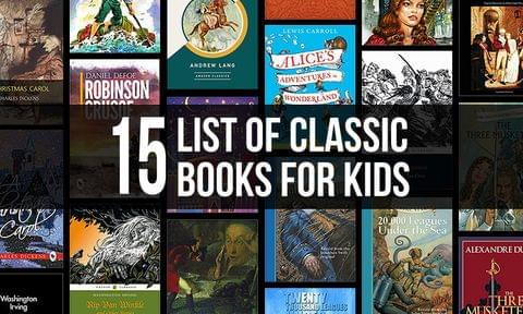 Best 15 Classic English Books for Kids