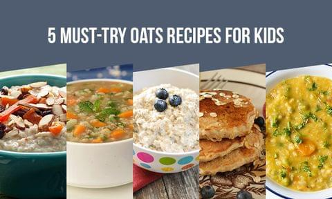 5 Yummy and Easy Oats Recipes Your Kids Will Love