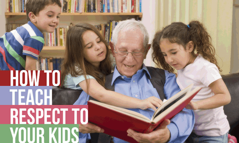 Teaching Kids how to Love and Respect Elders