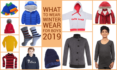 Dressing Up Your Boy for Winters: A Trendy Guide