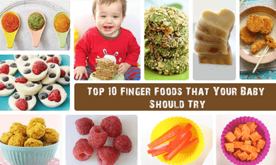 The Best Finger Food for Your Baby: The Master-list