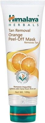 Himalaya Tan Removal Orange Peel Off Mask(100 g)