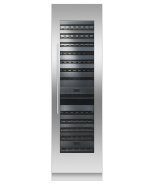 610mm 91 Btl Integrated Column Wine Cabinet RHH