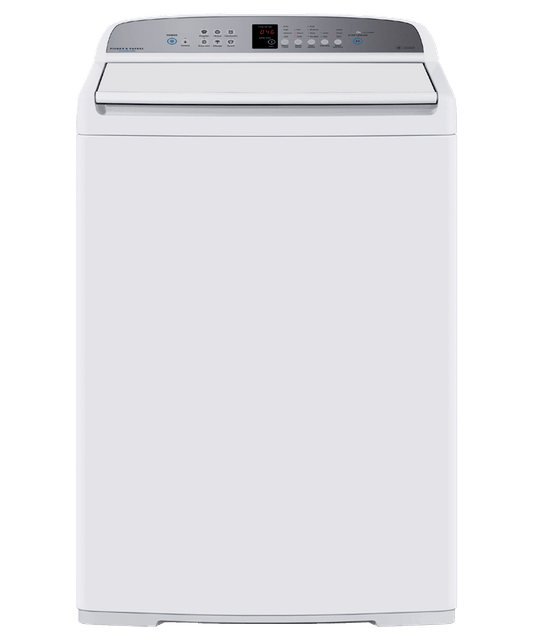 10kg Top Loader with Soft Close Lid White