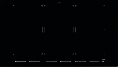 90cm Octazone Induction Cooktop