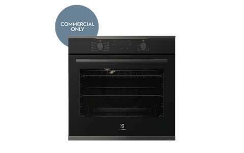 60cm Electric Oven w/ 8 Functions + Steam - Dark S/S