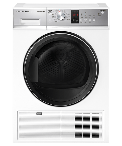 Fisher & Paykel 8kg Condenser Dryer w/ Auto Sensing - White