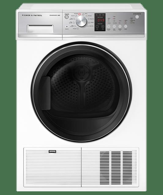 8kg Condenser Dryer w/ Auto Sensing - White