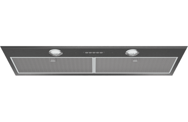 86cm Integrated Rangehood Dark S/S