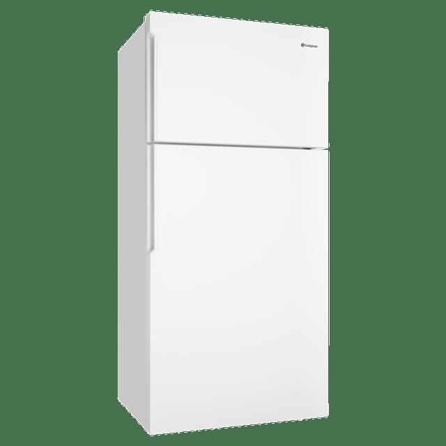 536L Top Mount Fridge w/ Pocket Handles LHH - White