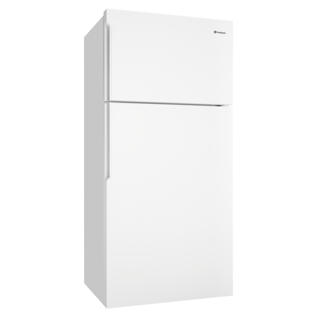 536L Top Mount Fridge w/ Pocket Handles RHH - White