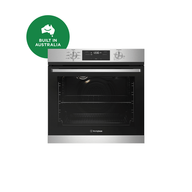 60cm 7 Function Oven Programmable Knob Control S/S