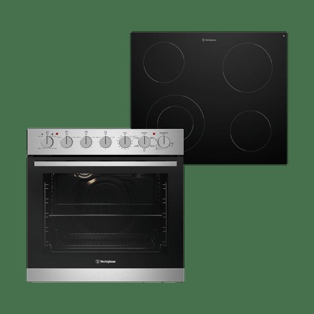 60cm Combination Oven & Ceramic Cooktop