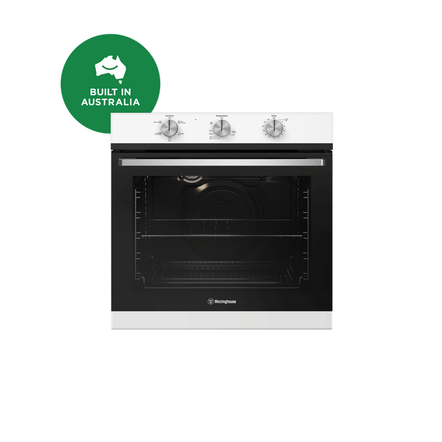 60cm 3 Multi-Function Natural Gas Oven - White