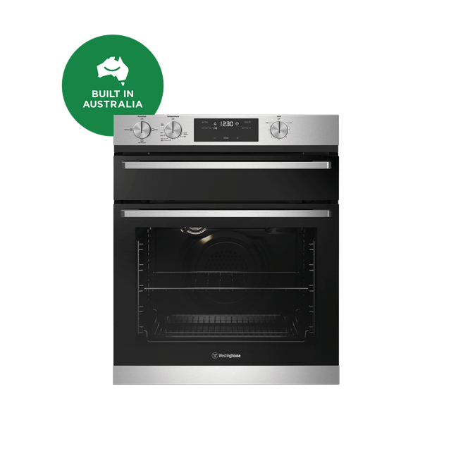 60cm 3 Multi-Function Natural Duo Gas Oven S/S
