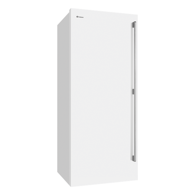 425L Vertical Freezer w/ Bar Handle LHH - White