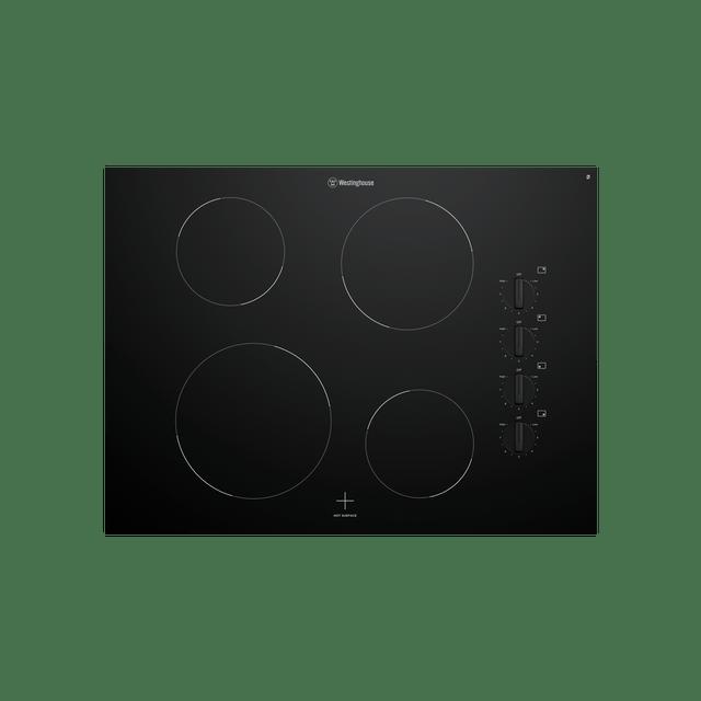 70cm Ceramic Cooktop 4 Elements Knob Control