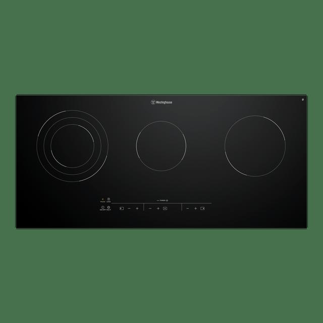 90cm Ceramic Cooktop 3 Element Touch Control