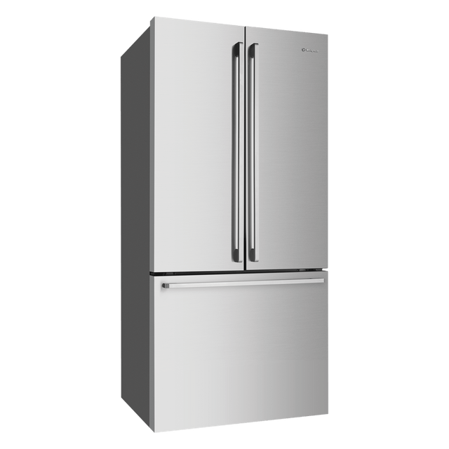524L French Door Fridge w/ Self Close Freezer Door - S/S