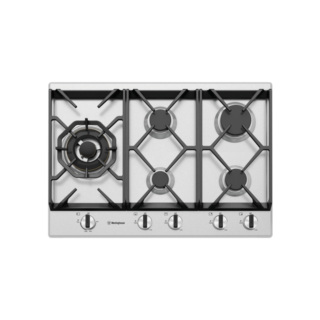 75cm 5 Burner Gas Cooktop S/S