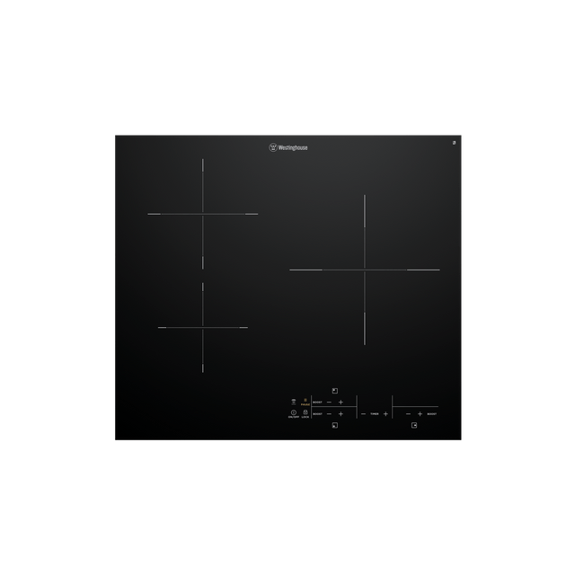60cm Induction Cooktop 3 Zone w/ Pause Option