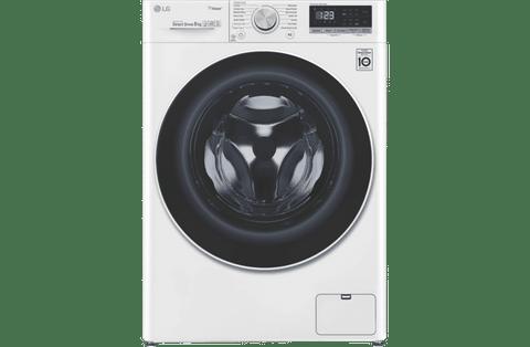 LG 8Kg Series 5 Front Load Washing Machine - White