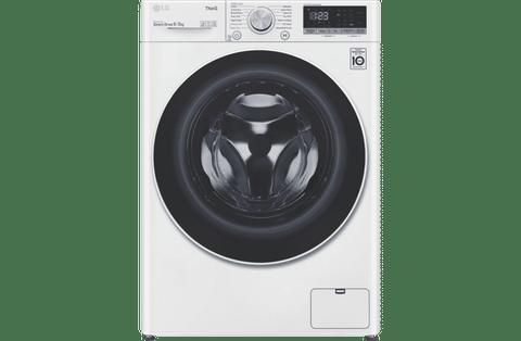 LG 9kg/5kg Front Load Washer / Dryer Combo - White