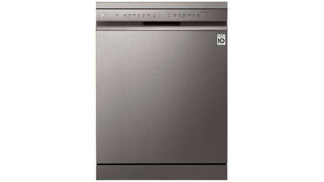 60cm Freestanding Dishwasher w/ 15 Place Settings - Platinum Steel