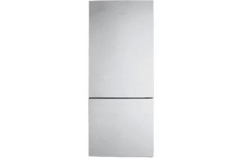 458L Bottom Mount Fridge - Clean Steel