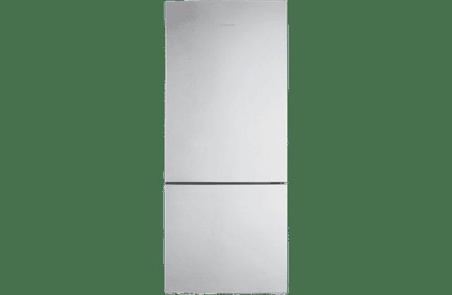 458L Bottom Mount Fridge - Clean Steel