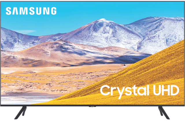 "55"" TU8000 Crystal 4K UHD LED LCD Smart TV 2020"