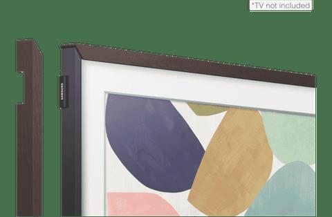 """32"""" Walnut Bezel for the frame TV 2020"""