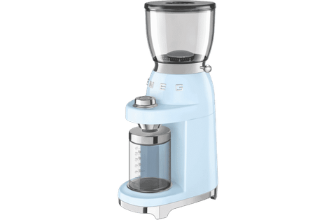 50's Retro Style Coffee Grinder Pastel Blue