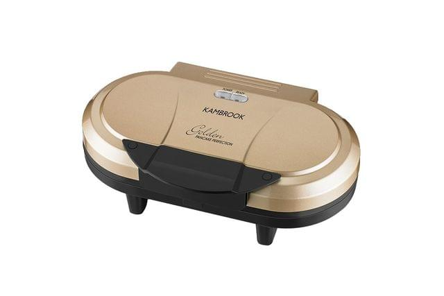 Golden Pancake Perfection Pancake Maker - Gold