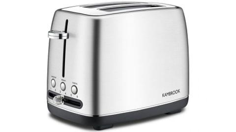 2 Slice Stainless Steel Toaster - Brushed Stainless Steel