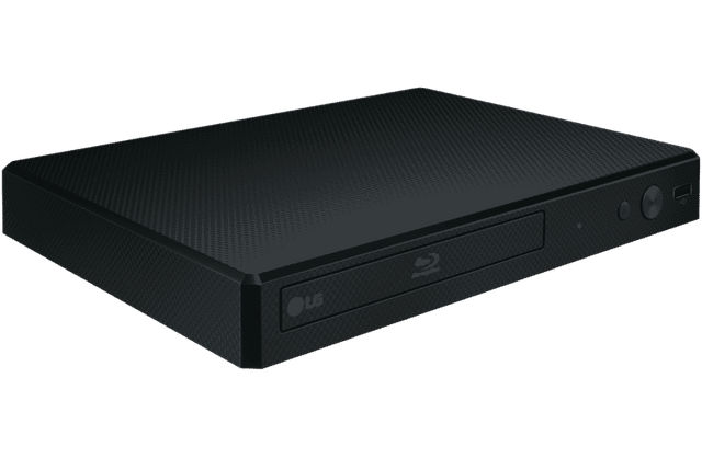 Blu-Ray DVD Player with USB and HDMI - Black