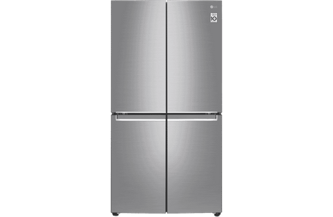 730L French 4 Door Fridge - Stainless Steel