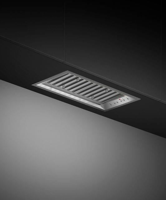 60cm Integrated Rangehood 5 Speed LED Strip