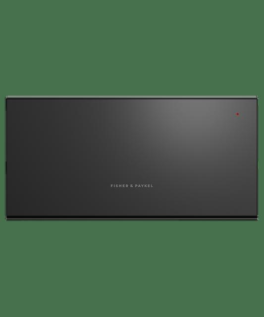 60cm Tall Warming Drawer w/ Foodsafe - Black