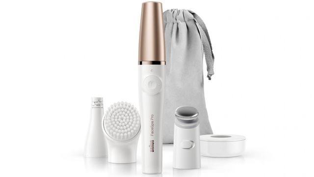 Braun FaceSpa Pro SE911 3-in-1 Facial Epilator