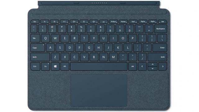 Surface Go Signature Type Cover - Cobalt Blue