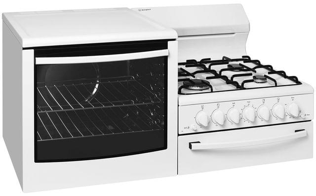 Westinghouse Freestanding Conv Cooker Sep Grill 4 Zone LPG RHH