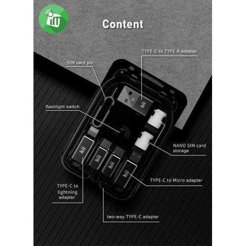 Budi 15W Wireless Charger - Phones Multi-Functional Box Grey