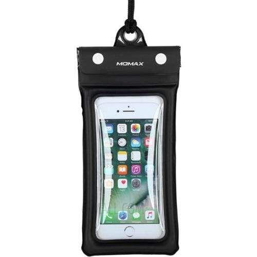 Momax airpouch - Black waterproof for  upto size 76mm x 150mm