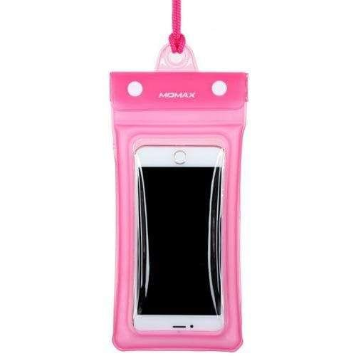 Momax airpouch - Pink waterproof for  upto size 76mm x 150mm