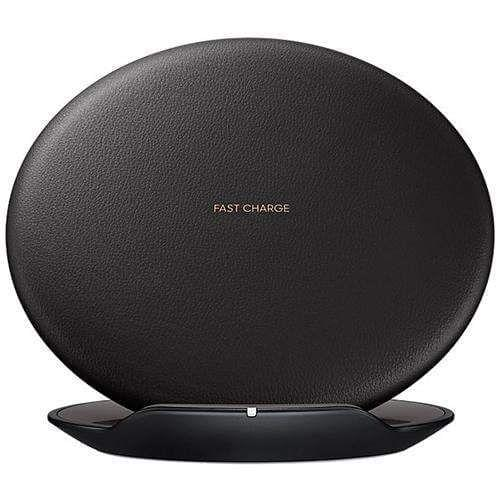 Samsung Qi S8 S9 Fast Charge Wireless Charging Pad - Black
